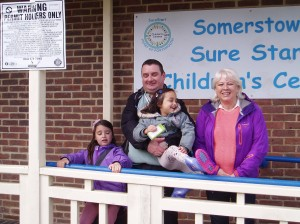 Outside Sure Start Somers Town